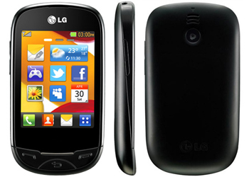application lg t505